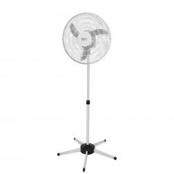 Ventilador Pedestal Oscilante 50 cm PP 110V Branco