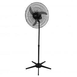 Ventilador Pedestal Oscilante 60 cm 110V Preto