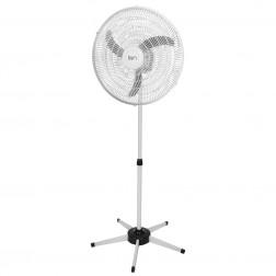 Ventilador Pedestal Oscilante 60 cm PP Bivolt Branco