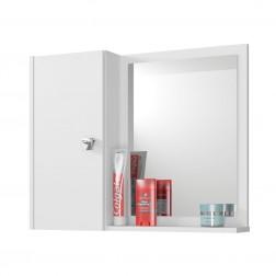 Espelheira para Banheiro 1 Porta Acre Branco