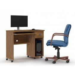Mesa de Computador Vicenza Amêndoa