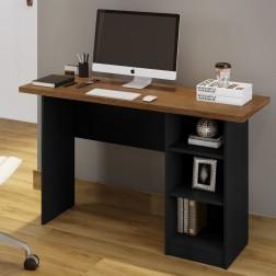 Mesa De Computador Lipe Canela e Preto