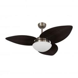 Ventilador de Teto Kovalski Bronze 3 Pás Tabaco 220V