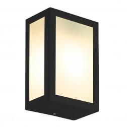 Luminária de Parede Retangular Preto